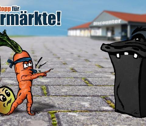 Wegwerf-Stop für Supermärkte