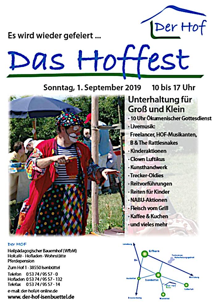 20. Hoffest in Isenbüttel @ Der Hof, Zum Hof 1, 38550 Isenbüttel